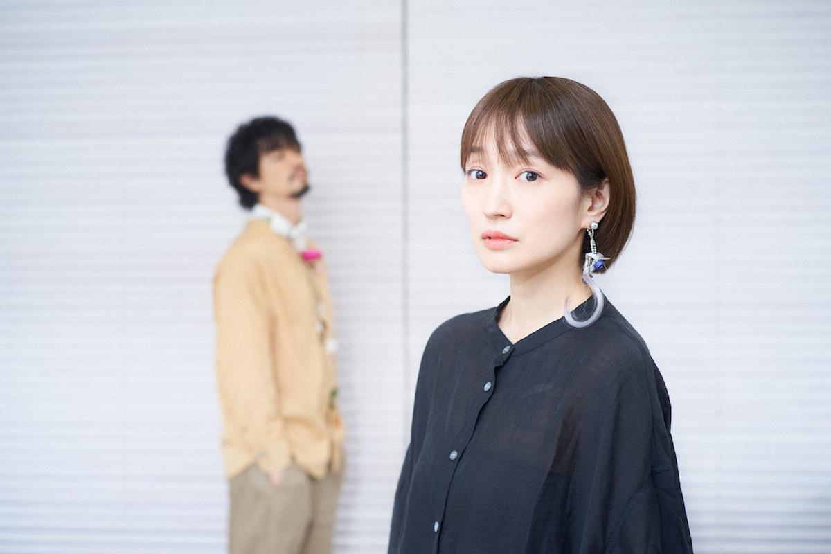 齊藤工、安藤裕子  Photo by 朝岡英輔