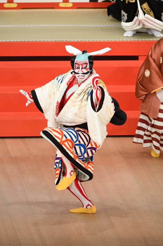 令和3年1月歌舞伎座『壽浅草柱建』小林朝比奈=坂東巳之助  /(C)松竹