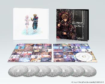 宇多田ヒカルの歌うテーマも収録 160曲超のCD8枚組『キングダム ハーツIII』オリジナル・サウンドトラック本日発売&サブスクでも配信開始