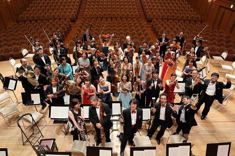 この写真が目印。大阪交響楽団のクラウドファンディングは現在実施中!     (C)飯島隆