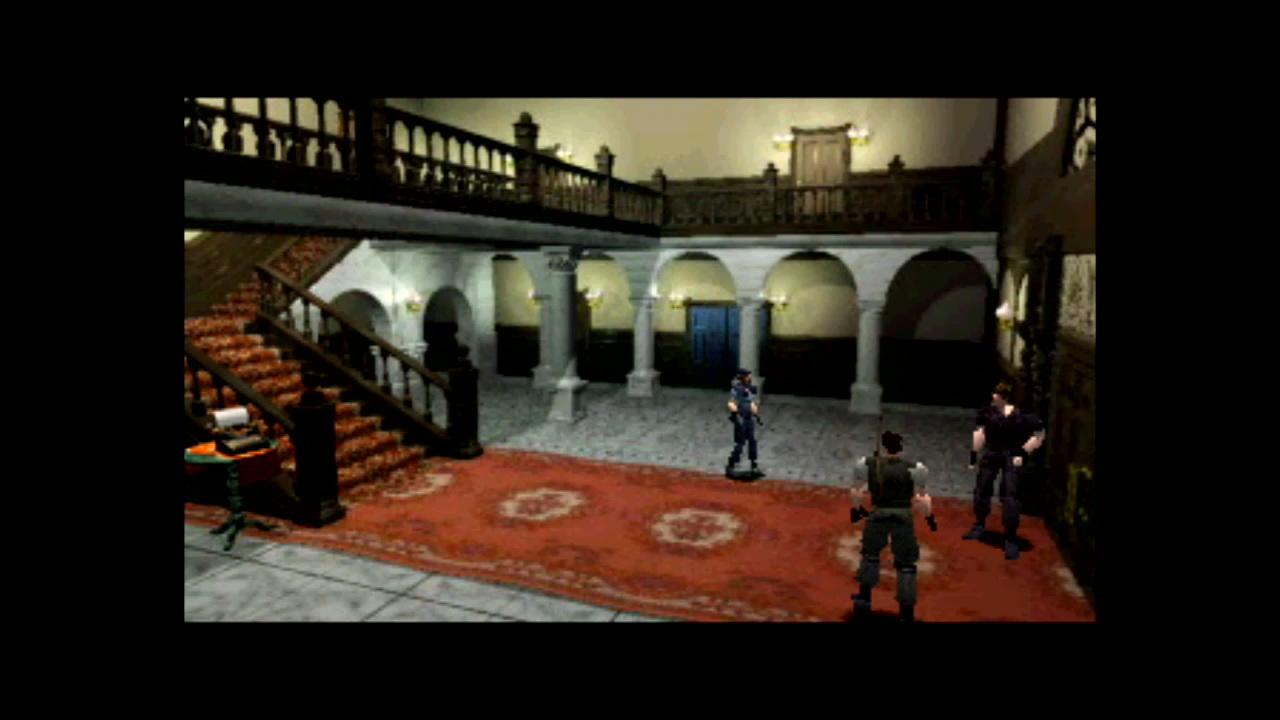 『バイオハザード ディレクターズカット』ゲーム画面 (C)CAPCOM CO., LTD. 1996, 1997 ALL RIGHTS RESERVED.