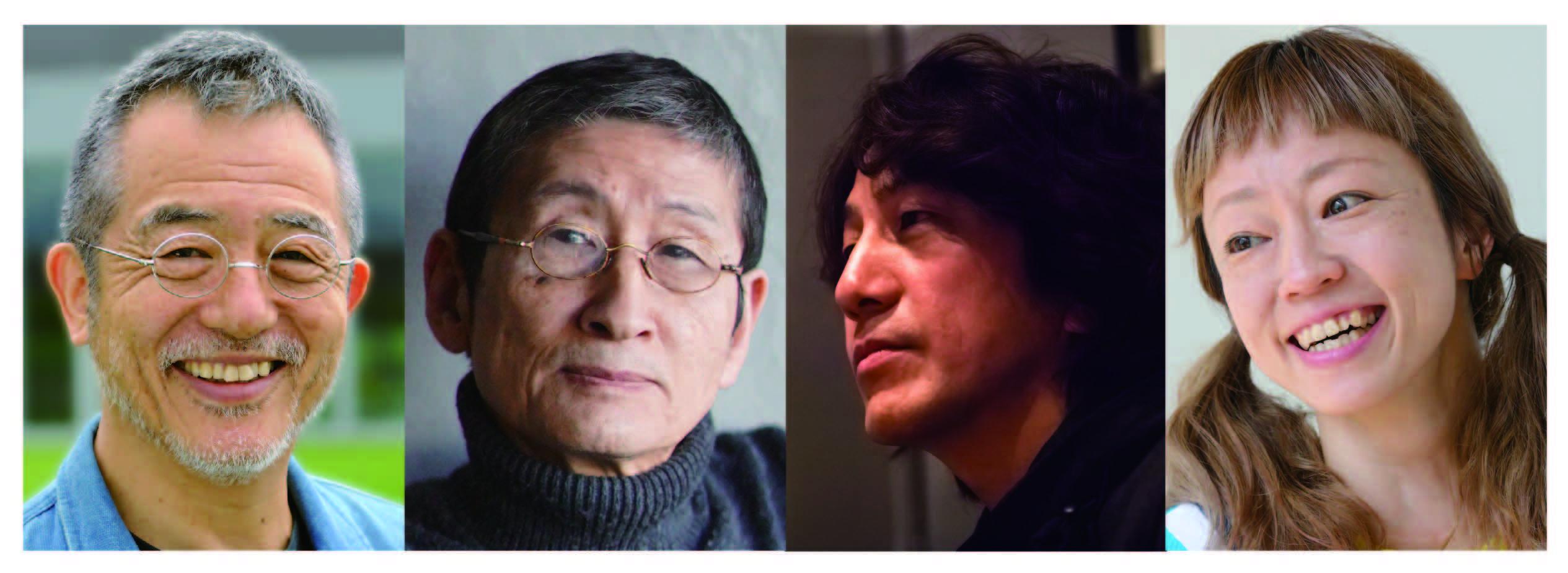 左より串田和美、加藤直、木内宏昌、山田うん