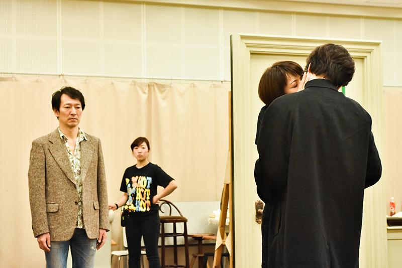 『End of the RAINBOW』稽古場より (photo:原地達浩)