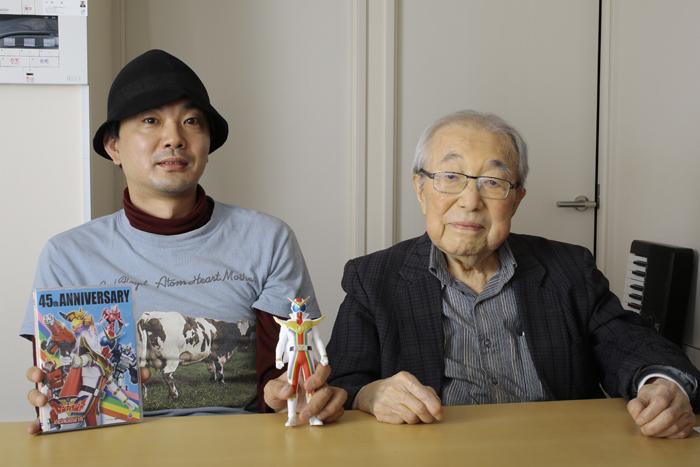 高木大地(左)、渡辺宙明(右) (写真提供:モノ・マガジン)