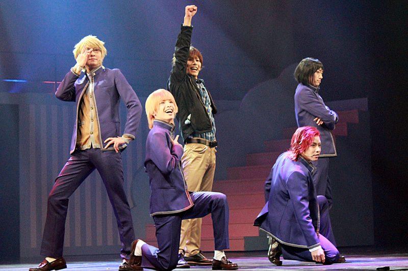 舞台オリジナルキャラクターである関西サンリオ男子