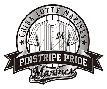 『PINSTRIPE PRIDEデー』のロゴ