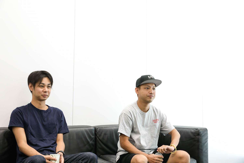 ORANGE RANGE・NAOTO、HIROKI 撮影=風間大洋