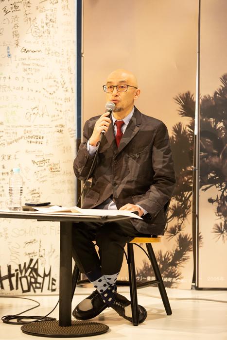 田口幹也 城崎国際アートセンター現館長 (photo:igaki photo studio)