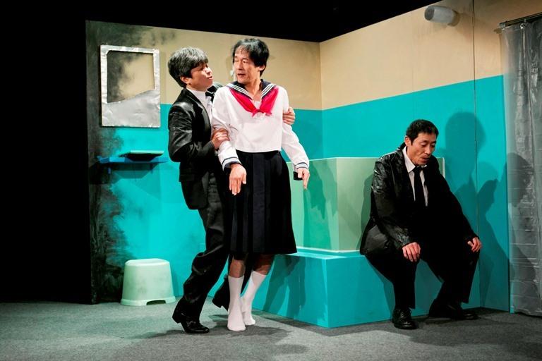 第13回公演『血、きってみる』(2012年) 作:樋口ミユ(Plant M) 演出:岩崎正裕(劇団太陽族)
