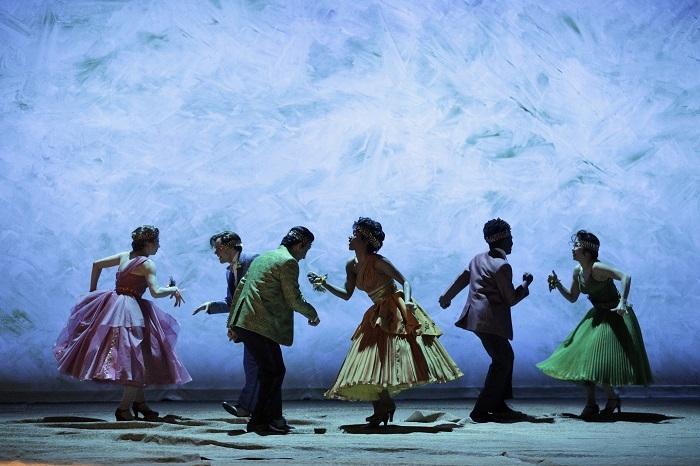 『エウリディーチェ』 ⒞Cory Weaver/Los Angeles Opera