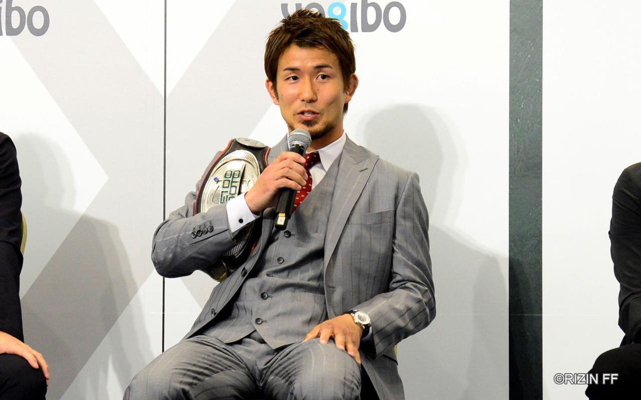 岡田遼 (C)RIZIN FF