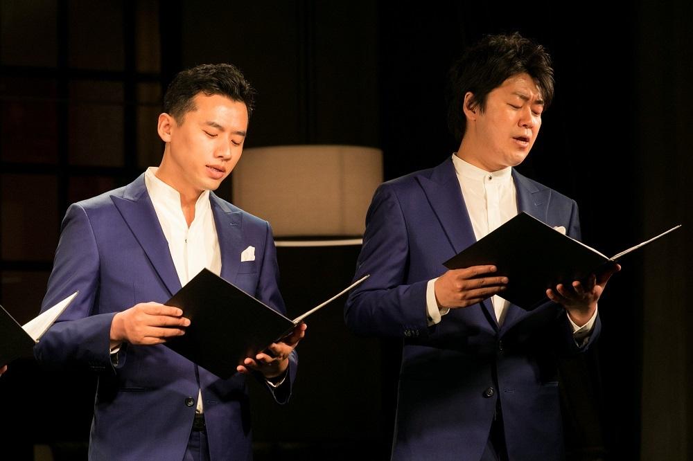 (左から)坂下忠弘、金山京介
