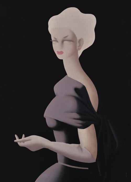 《バイオレット》 1952年 損保ジャパン日本興亜