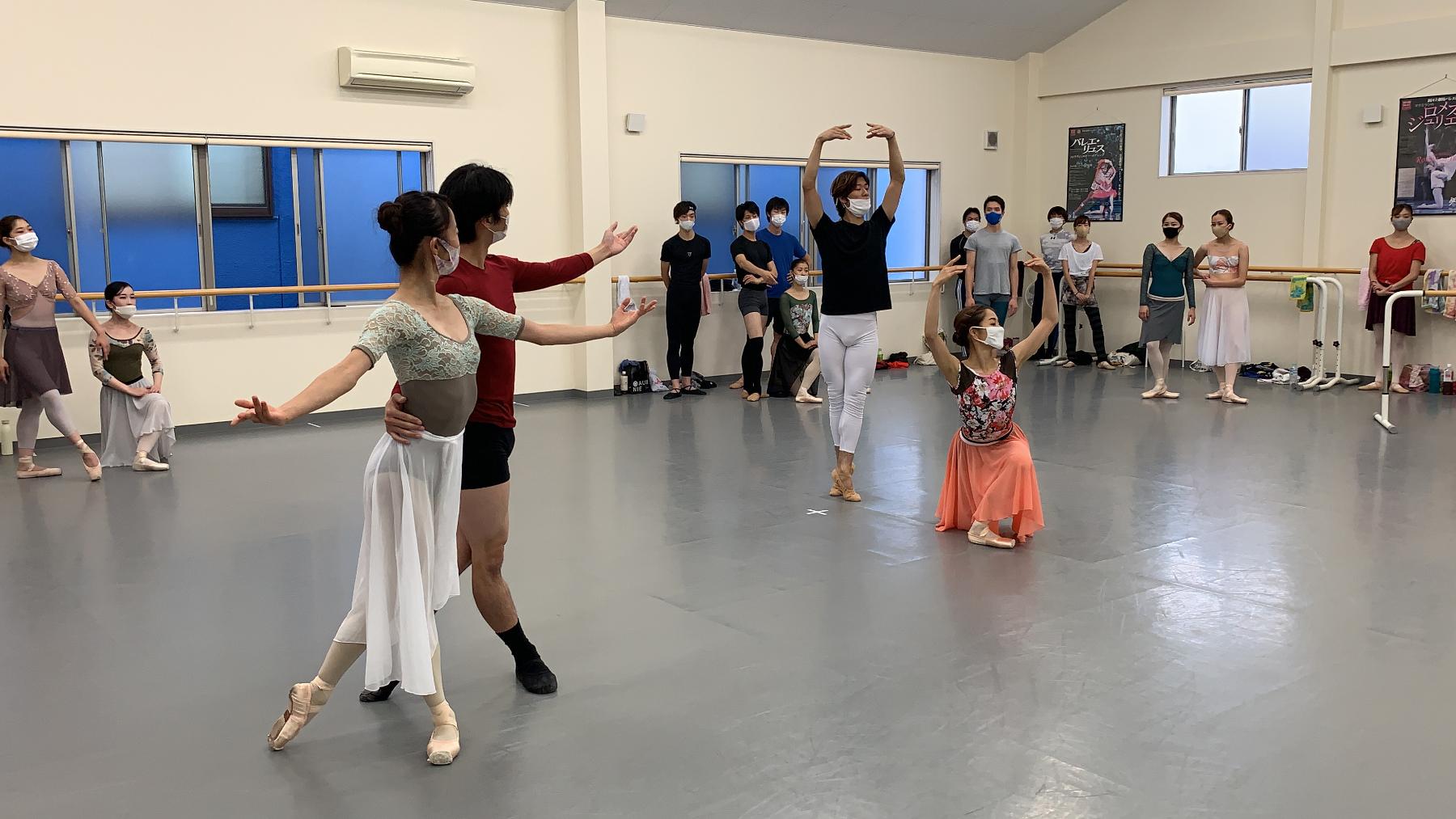 Ballet Company West Japan 第2回公演『ジゼル』リハーサル