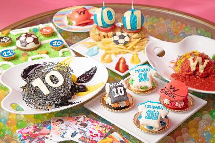 『キャプテン翼』×「KAWAII MONSTER CAFE」スペシャルコラボ カラフルなフードメニュー全7品が登場