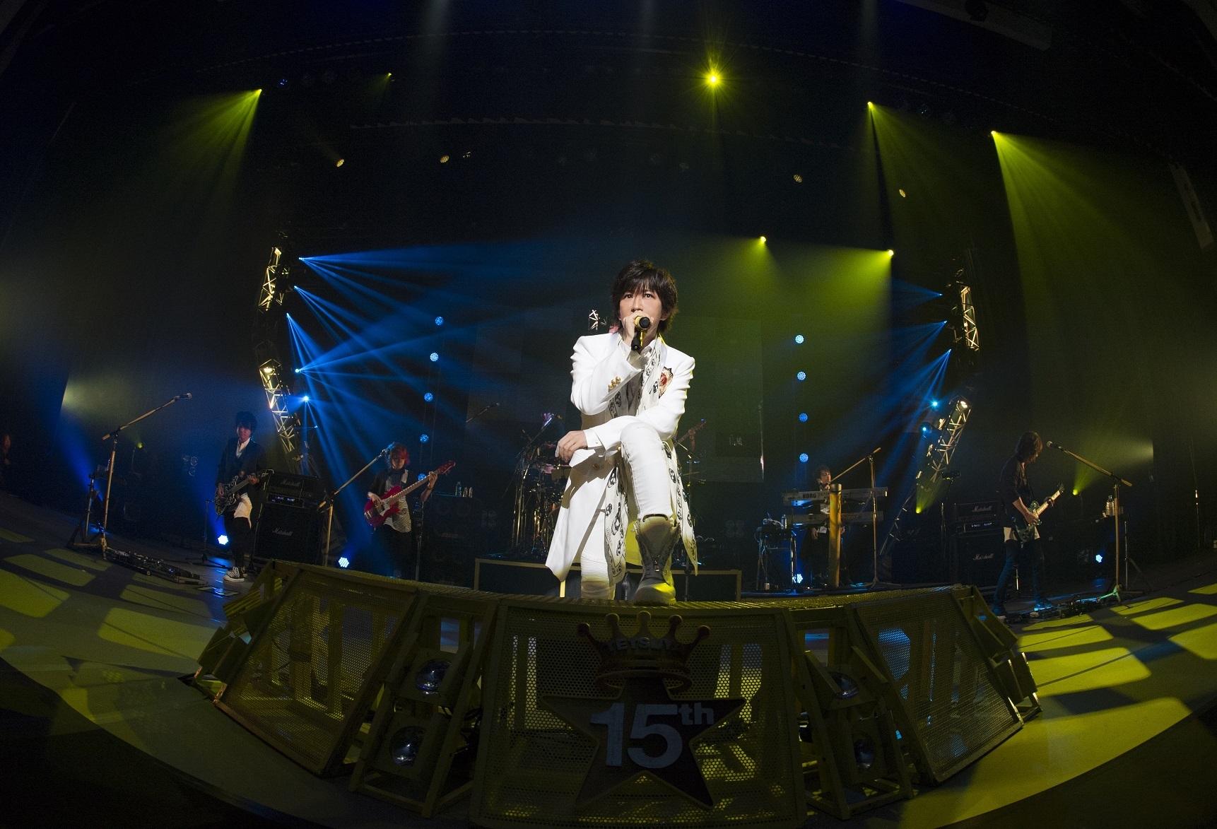 TETSUYAソロ15周年記念ライブを映像化
