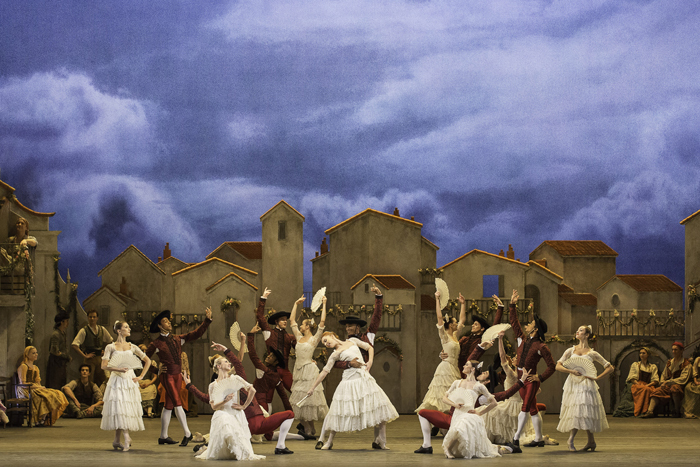 DON QUIXOTE. Artists of The Royal Ballet in Don Quixote  (c) ROH Johan Persson (2013)