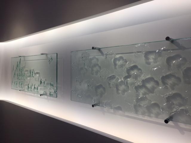 ジェラール・デカン氏によるガラス作品