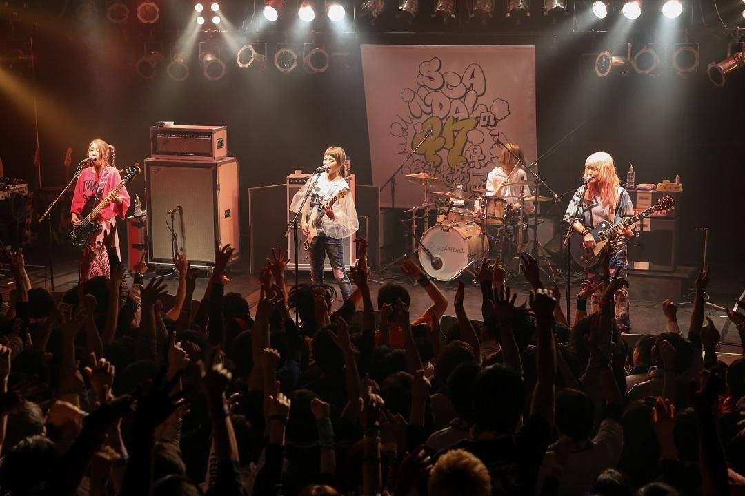 『SCANDALの47都道府県ツアー』 熊本B9 V1