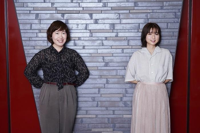 (左から)長田育恵、上白石萌歌 撮影:源賀津己