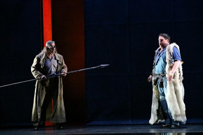 新国立劇場オペラ『ジークフリート』ゲネプロより さすらい人、ジークフリート