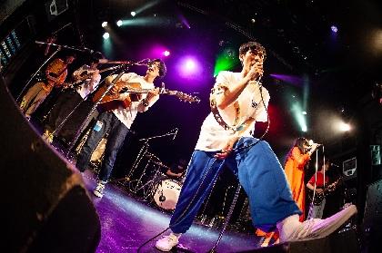 """バレーボウイズ、""""ひがしのまち""""東京で合唱祭 新作「卒業/ひがしのまち」のリリースパーティーをレポート"""