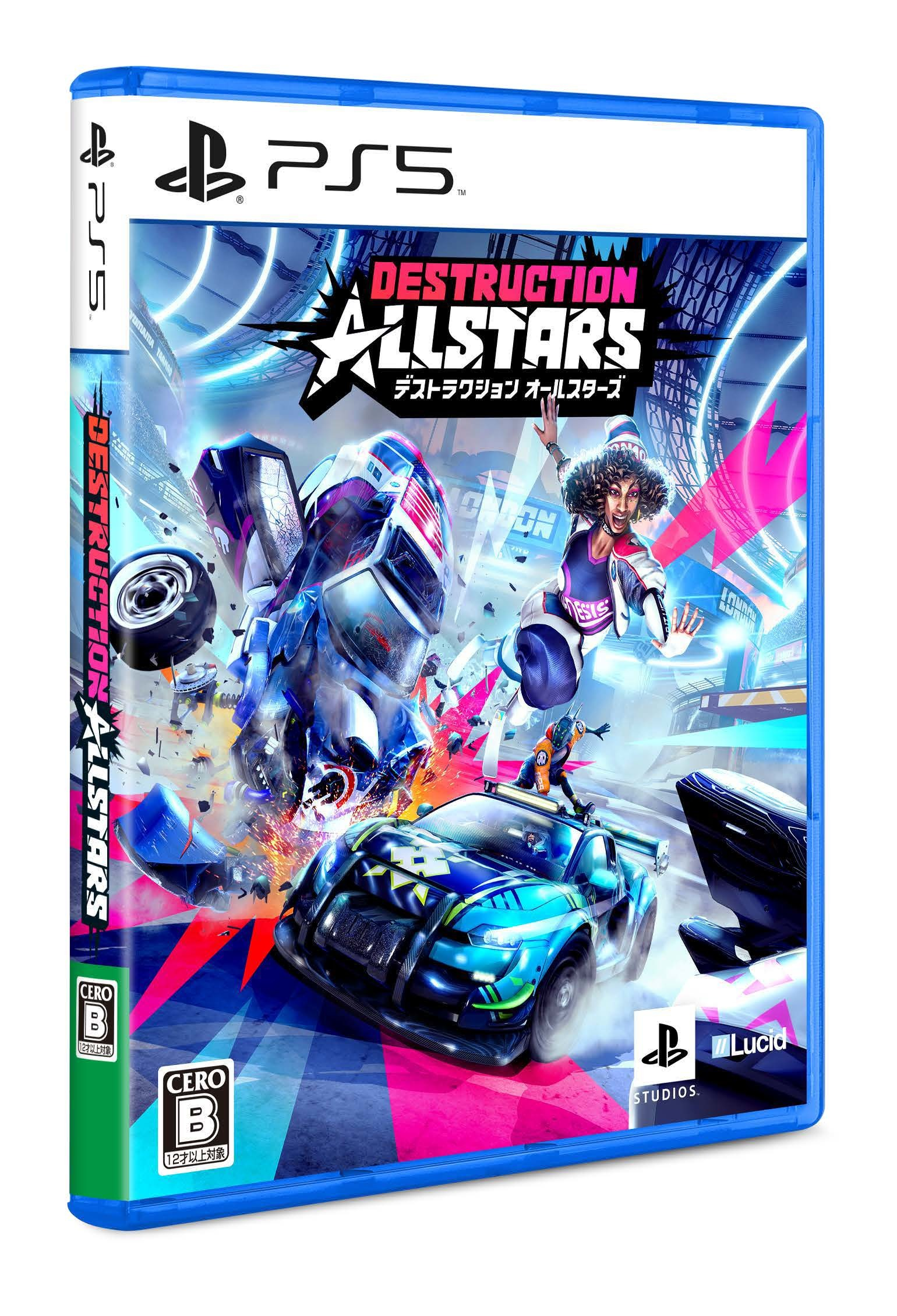 『Destruction AllStars』パッケージ (C)Sony Interactive Entertainment Europe Ltd. Developed by Lucid Games Limited.