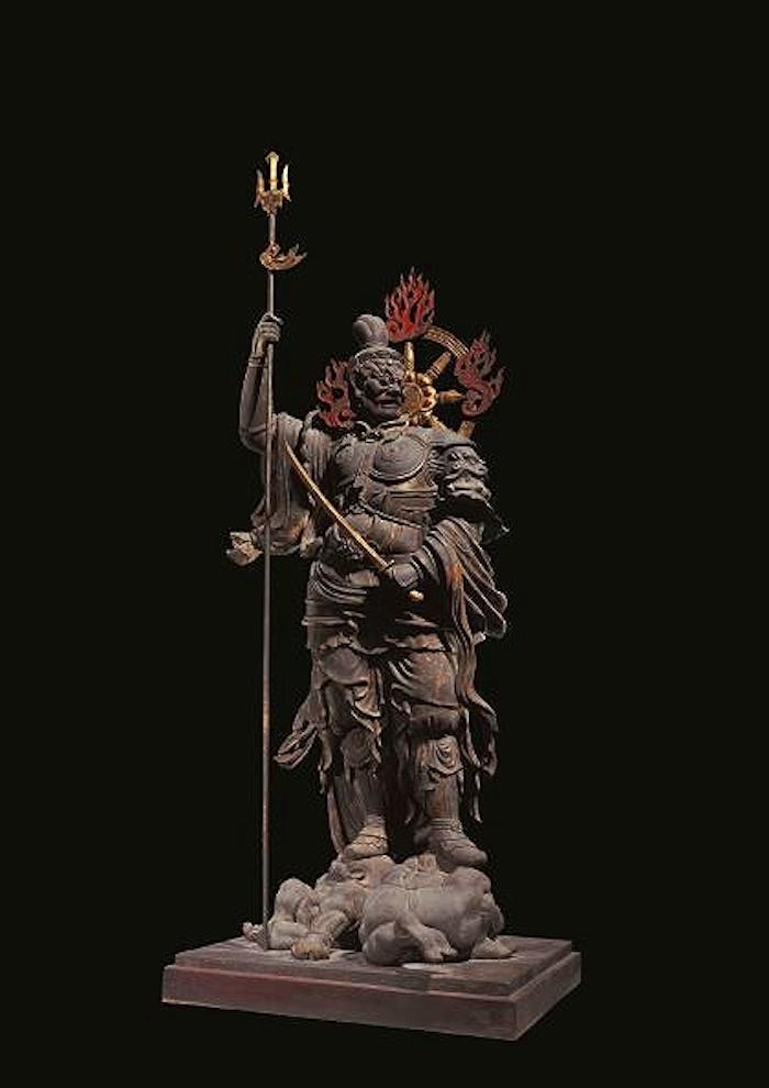 国宝 増長天立像 平安時代・承和6年(839) 東寺蔵