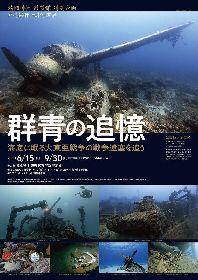 世界の海底に眠る日本の戦争遺産の写真展『群青の追憶』 水中写真家・戸村裕行が撮影