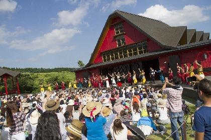 DRUM TAOによる『夏フェスと野外劇場TAOの丘LIVE』 ライブに参加しているような体験的映像を配信