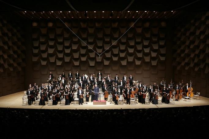 フェスティバルホールが本拠地。日本を代表する大阪フィルハーモニー交響楽団。  (C)飯島隆