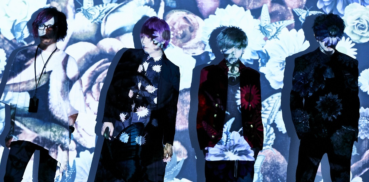アゲハ(L→R:ヒロキ/Dr、揺紗/Vo、YUKIA/Ba、齋藤紳一郎/Gt)