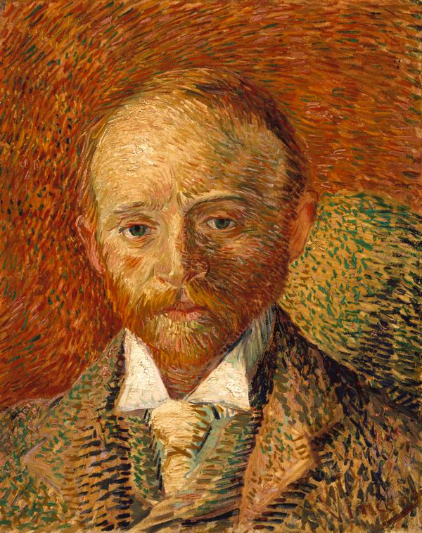 フィンセント・ファン・ゴッホ 《アレクサンダー・リードの肖像》 1887年、油彩・板、ケルヴィングローヴ美術博物館蔵 (C) CSG CIC Glasgow Museums Collection