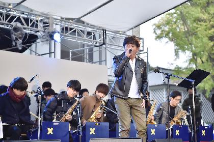 佐藤竹善 『三田祭』で慶大学生ビッグバンドと共演、クイーンの名曲をカバー