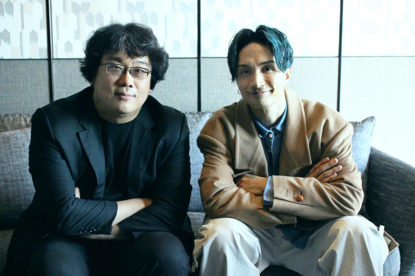 左から、ポン・ジュノ監督
