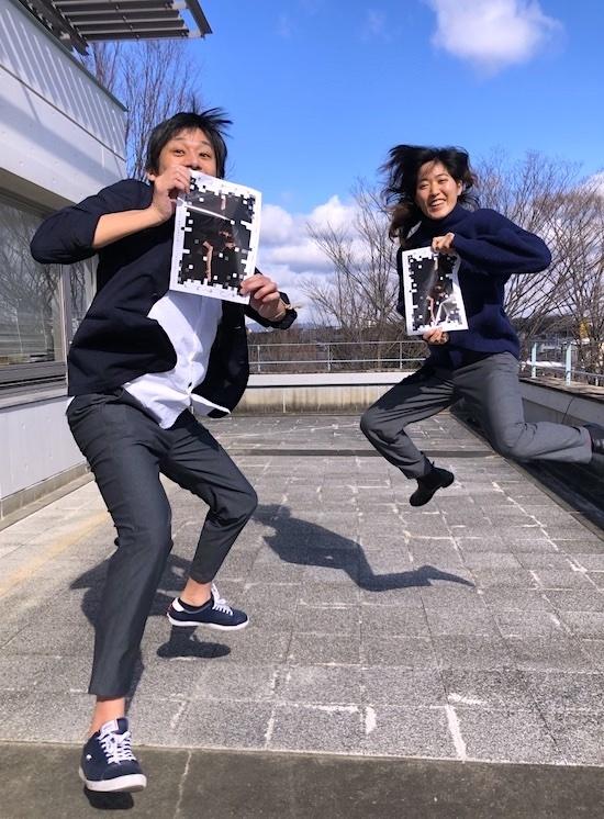 左から・劇作家で演出家の刈馬カオス、ダンサーで「長久手市文化の家」創造スタッフの豊永洵子