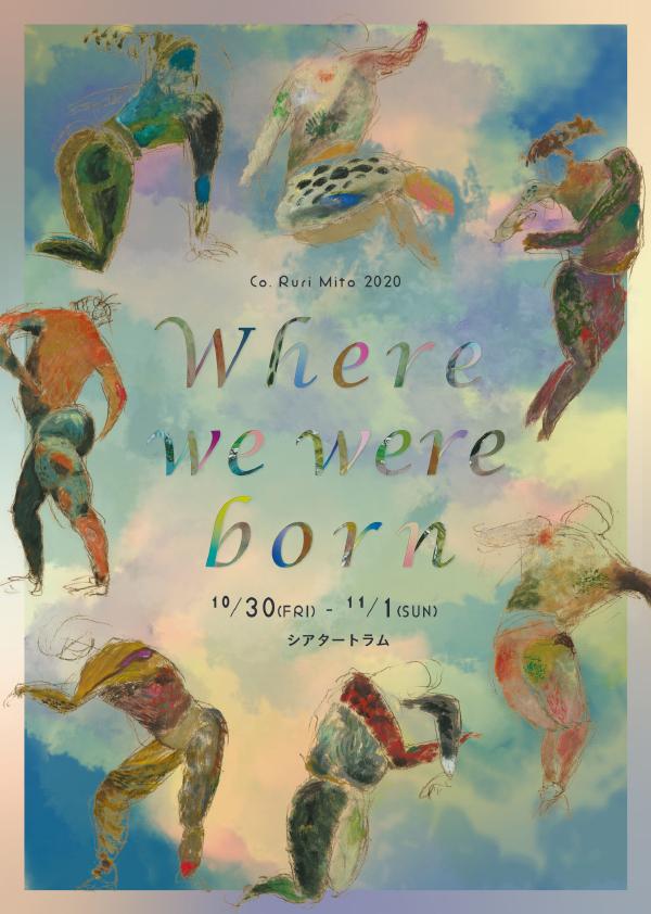Co. Ruri Mito『Where we were born』フライヤー