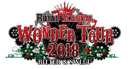 Royal Scandal 全国ツアーのゲストとしてun:c、しゅーず、センラ、めいちゃんの出演を発表