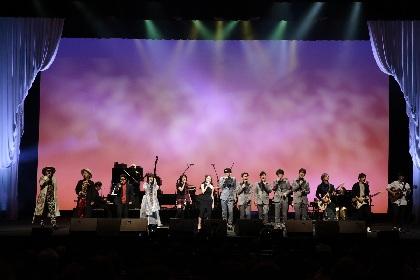 一青窈のデビュー15周年音楽祭『一青窈謝音会~アリガ十五~』をWOWOWで放送 オフィシャルレポも到着