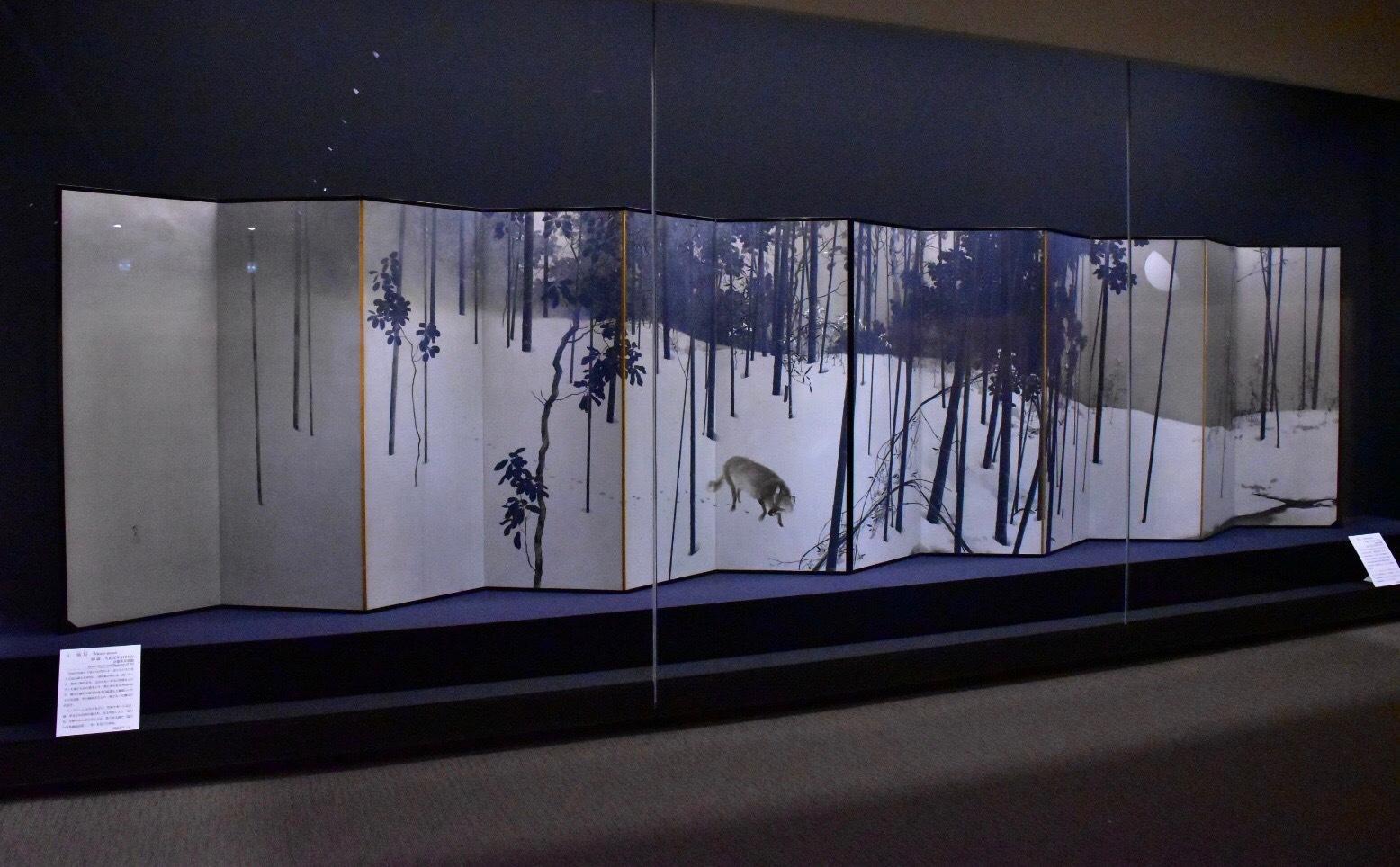 寒月 大正元年(1912)京都市美術館蔵