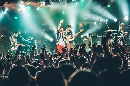 FIVE NEW OLDがStampとDATSを迎え、新体制のキックオフ 渋谷クアトロ公演をレポート