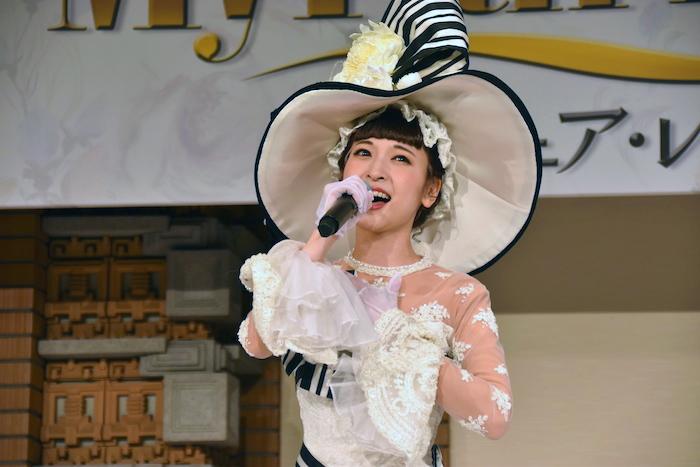 イライザ・ドゥーリトル役の神田沙也加