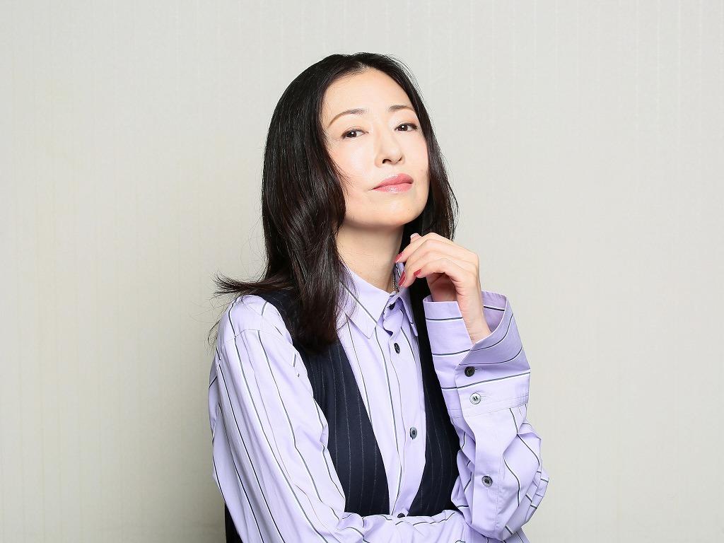 松雪泰子 撮影:宮川舞子