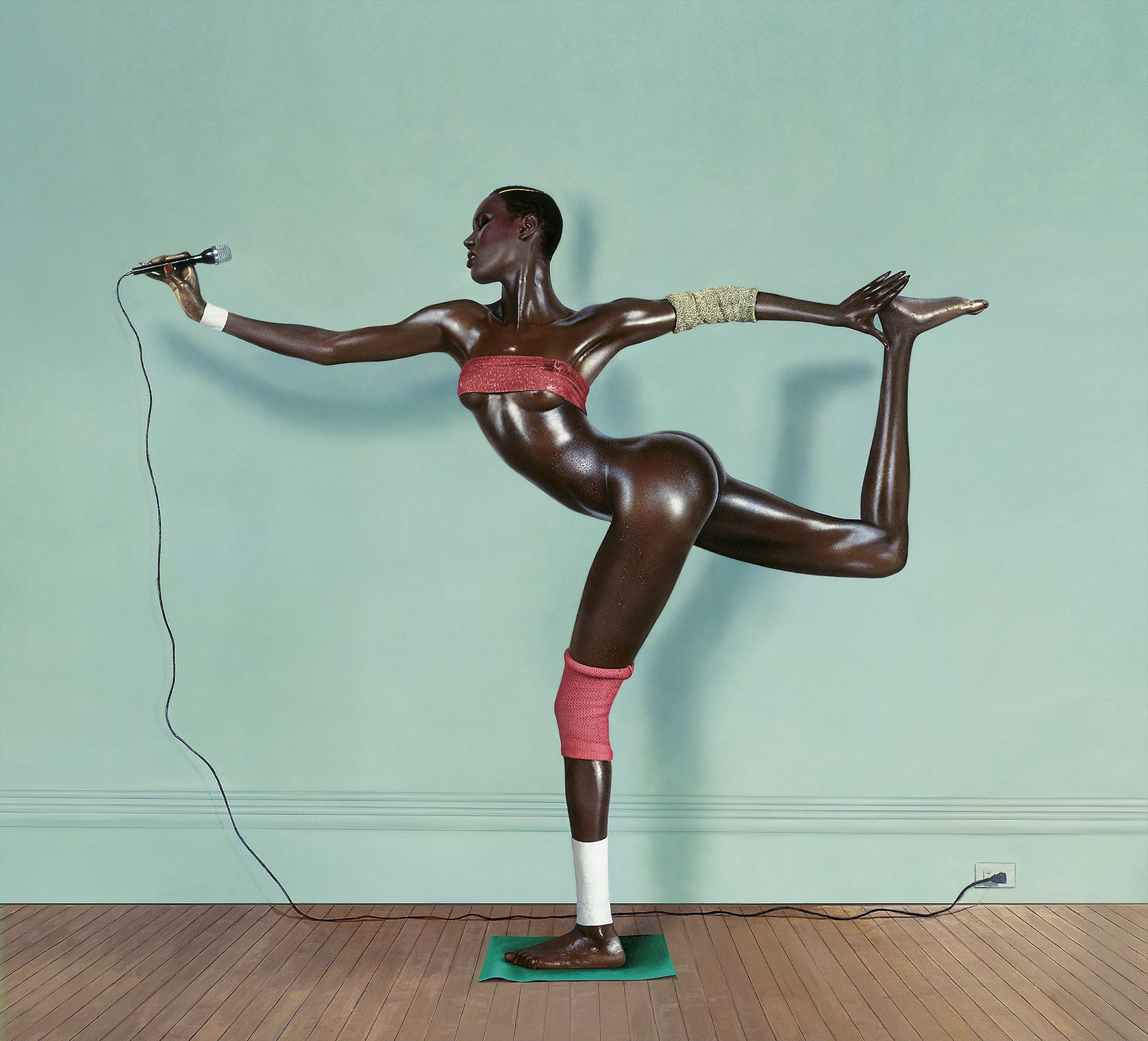 ジャン=ポール・グード「Grace revised and updated, painted photo, New York」1978年 (c) Jean-Paul Goude