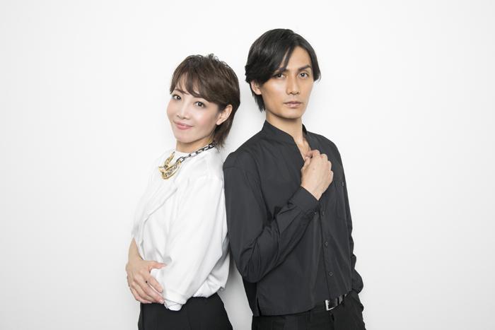 柚希礼音・加藤和樹(撮影:鈴木久美子)