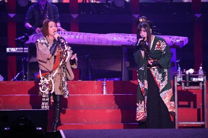 和楽器バンド×一青窈「東風破」ライブ映像がGYAO!にて先行公開 最新ライブDVD & Blu-rayに収録