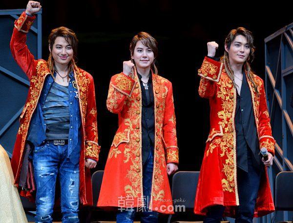 2016年版のヴォルフガング、イ・ジフン、キュヒョン、チョン・ドンソク