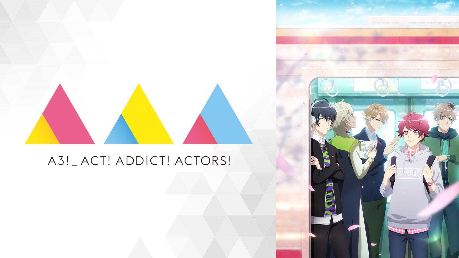 テレビアニメ『A3!』SEASON SPRING (c)A3! ANIMATION PROJECT