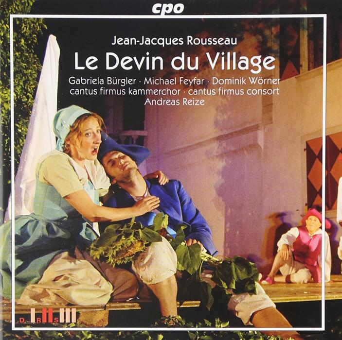 ルソー:歌劇『村の占い師』全曲 CD