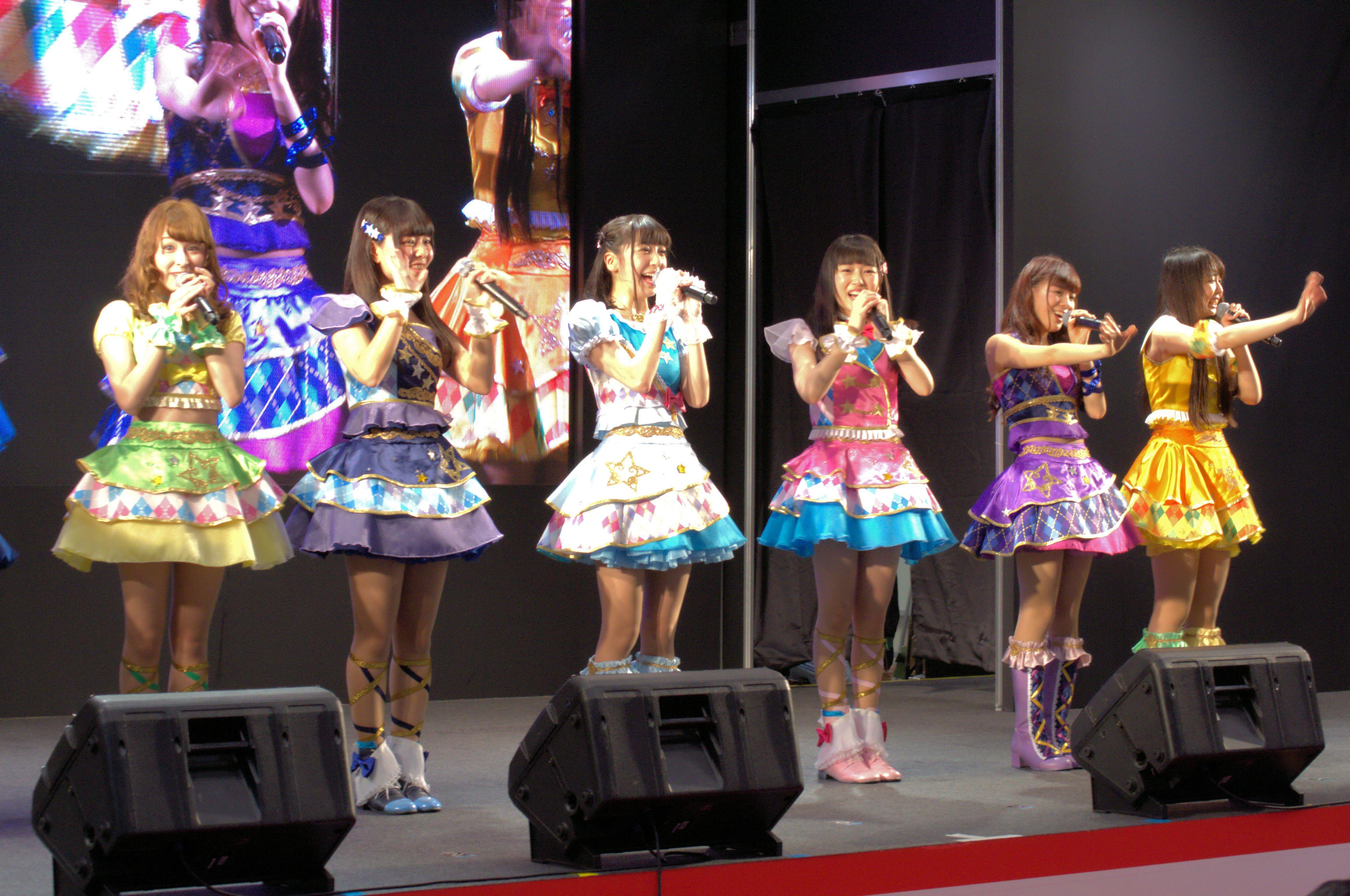 AIKATSU☆STARS! (C)BNP/BANDAI, DENTSU, TV TOKYO